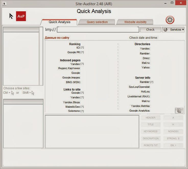 Download free ubots: Site Auditor - Analyze your site and competitors for FREE