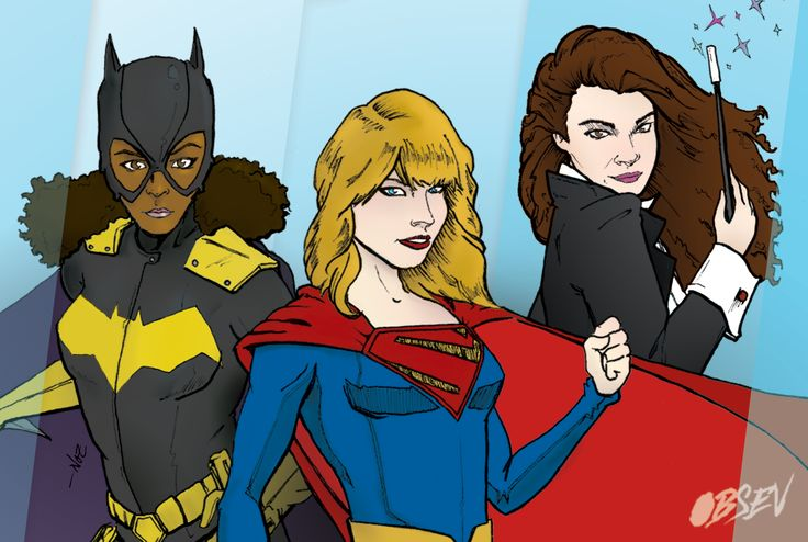 Artist Imagines Taylor Swift's Squad as Superheroes