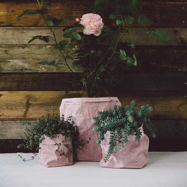 Uashmama Washable Paper Bag Rose - The Future Kept - 3