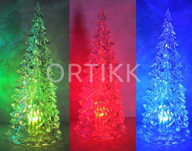 Choinka LED - pięknie świeci na różne kolory. #tree #christmastree #christmas #light #led #decoration #choinka #dekoracja #prezent #gwiazda #święta #bożenarodzenie #ortikk