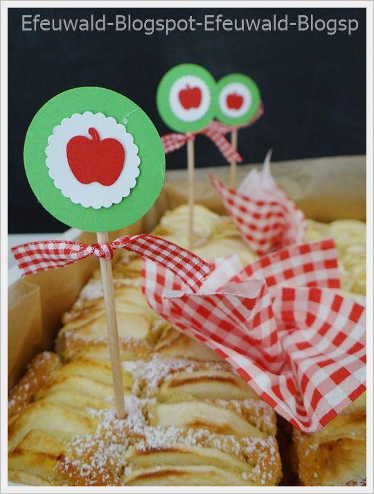 Sonntagssüß: Apfelkuchen