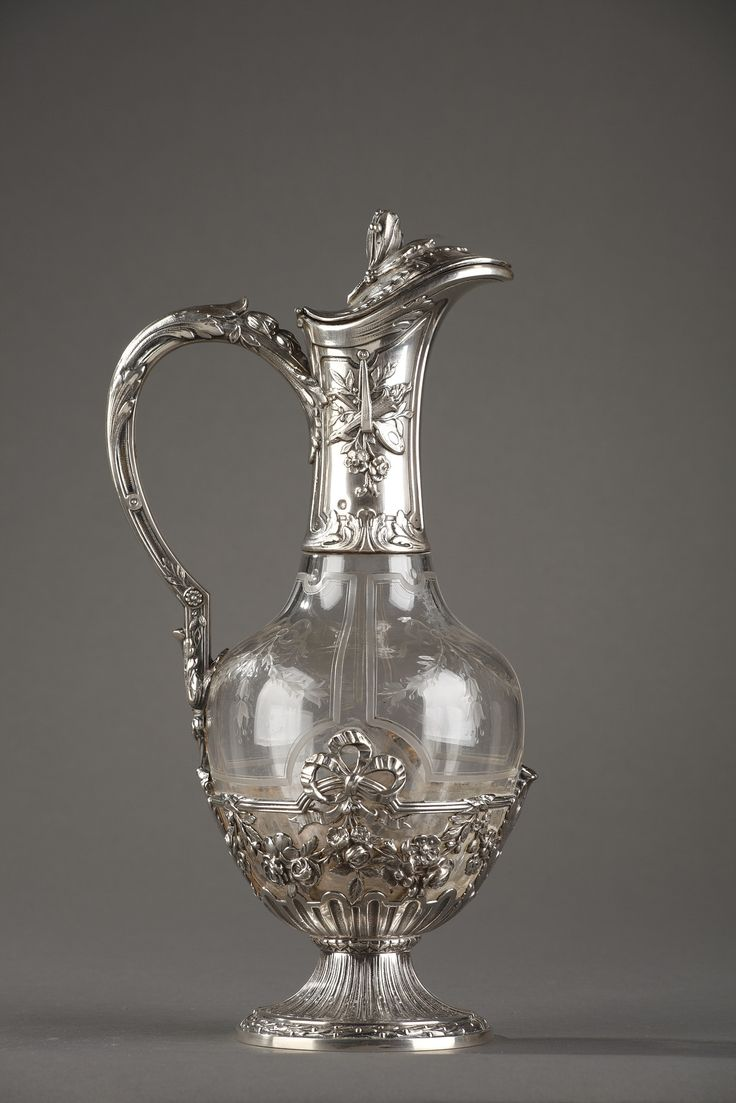 236 best ewers images on pinterest porcelain glass art and vases a crystal ewer with silver mounts resting on a foot decorated with gadroon the reviewsmspy