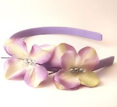How to make Butterfly Flower Headbands and Butterfly Clips