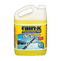 Rain-X Windshield Washer Fluid De-Icer I've used this washer fluid in the past. It works well to help clear ice off the windows in cold weather.