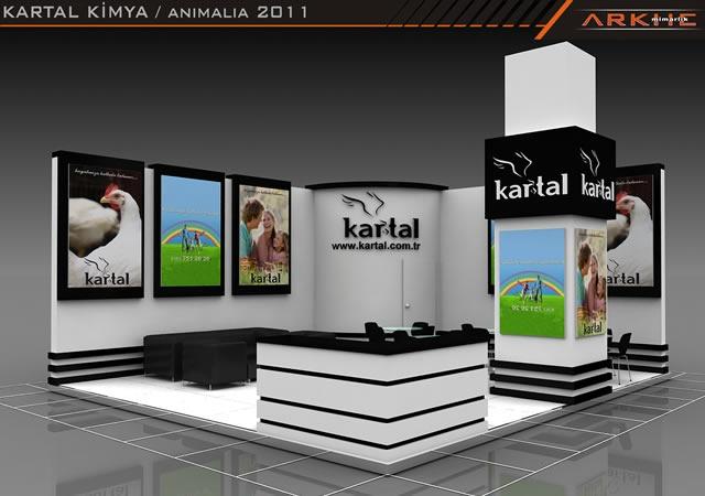 Kartal Kimya Exclusive Exhibition Stand Design Fair