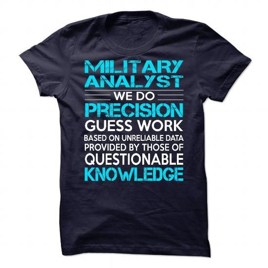 Awesome Shirt For Military Analyst T Shirts, Hoodies. Check price ==► https://www.sunfrog.com/LifeStyle/Awesome-Shirt-For-Military-Analyst-90701229-Guys.html?41382 $21.99