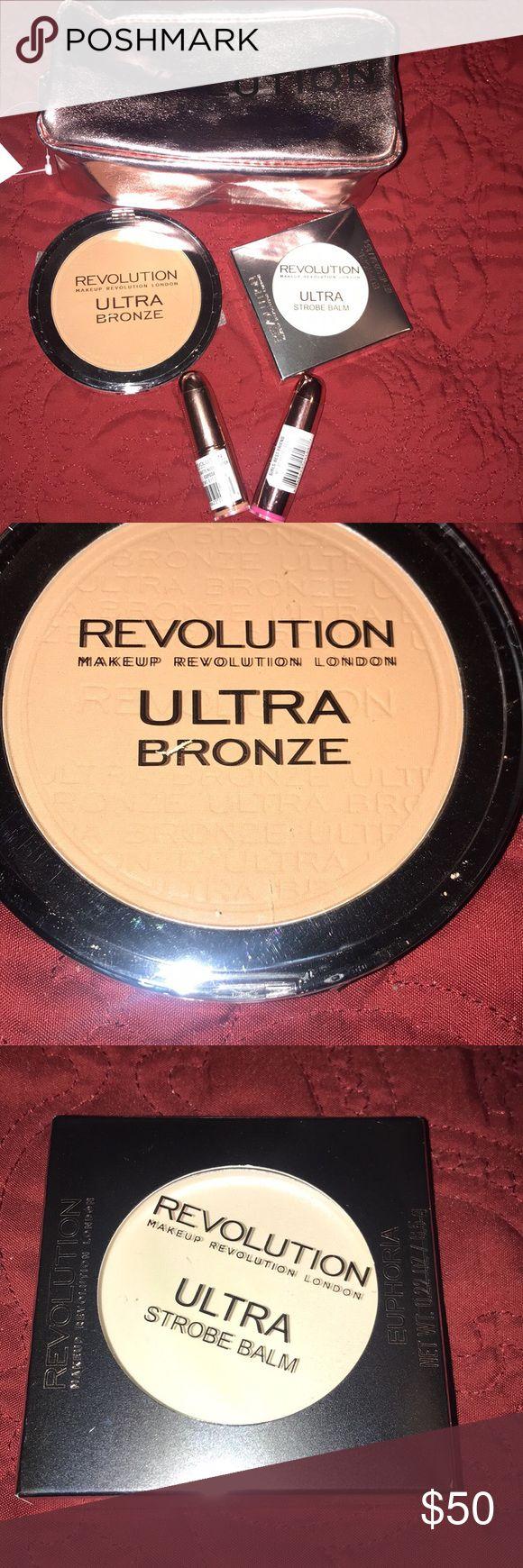 New Makeup Revolution London Bundle Bundle includes