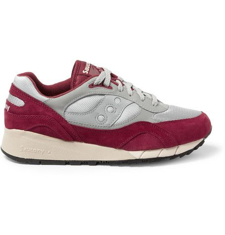 Saucony Shadow 6000 Suede and Mesh Sneakers | MR PORTER