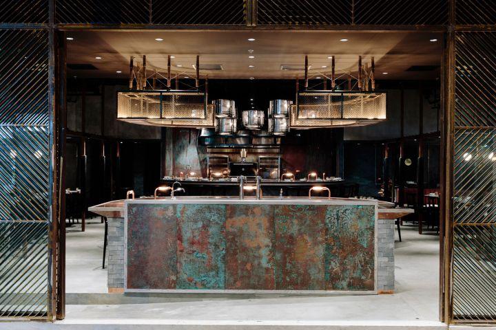 Rhoda restaurant by Joyce Wang Studio Hong Kong