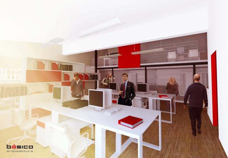 Oficinas IBL . 100mts2 . Querétaro . Mx . Diseño de Interiores . Básico Arquitectura
