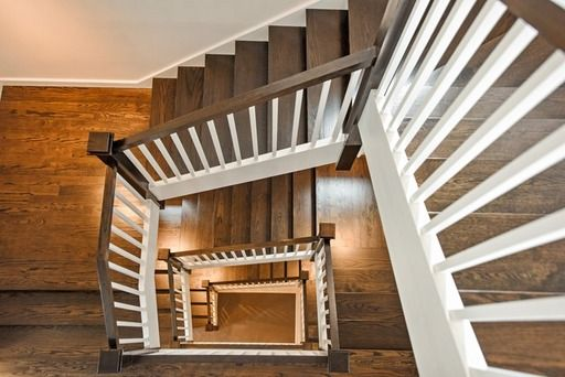 Looks cool! Love this wooden staircase