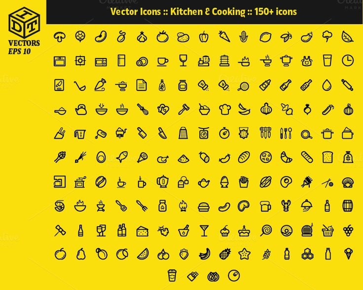 2600+ Vector Icons Pack | Part5 by Idette Designs™ on Creative Market