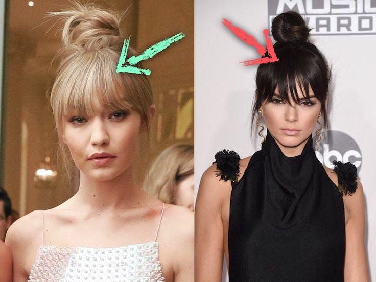 Frangia finta senza extension: il trucco delle star per usare i propri capelli fingendo una frangetta!