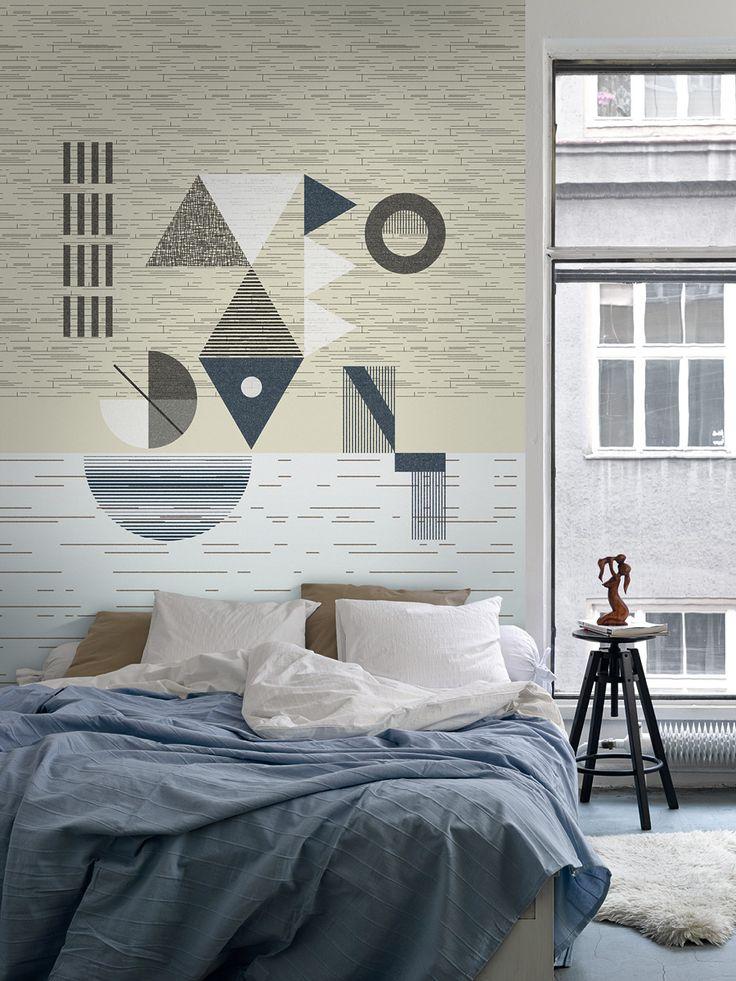 Sunset / non-woven wallpaper / lavmi