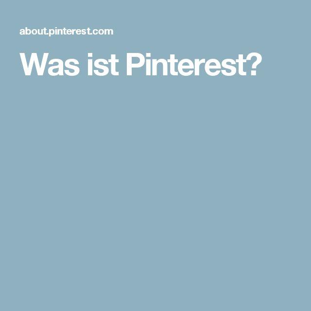 Was ist Pinterest?