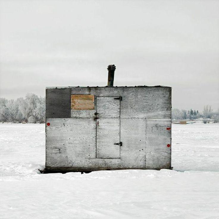 139 best ice fishing shacks images on pinterest ice for Ice fishing shacks