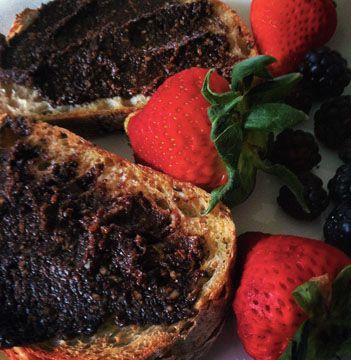 Tartinade chocolat, noisettes et amandes - Alexandra Leduc nutritionniste-diététiste