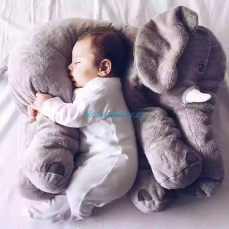 Spinkací slon pro miminko. Slon, spánek, miminko, elephant,hot, news,tip na dárek.