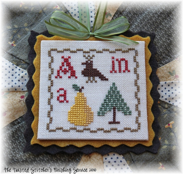 just cross stitch ornament preview issue