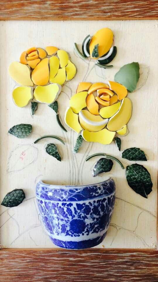 Rose 3D Keramik