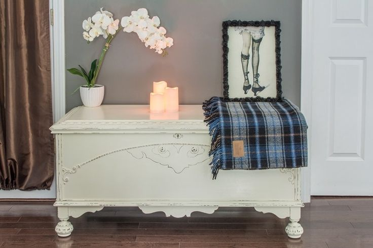 Cedar Chest Makeover - The Navage Patch