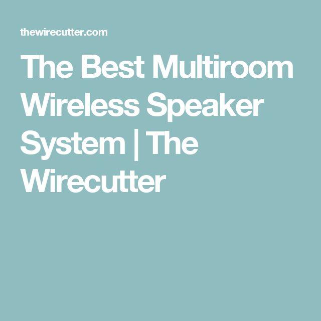 The Best Multiroom Wireless Speaker System | The Wirecutter