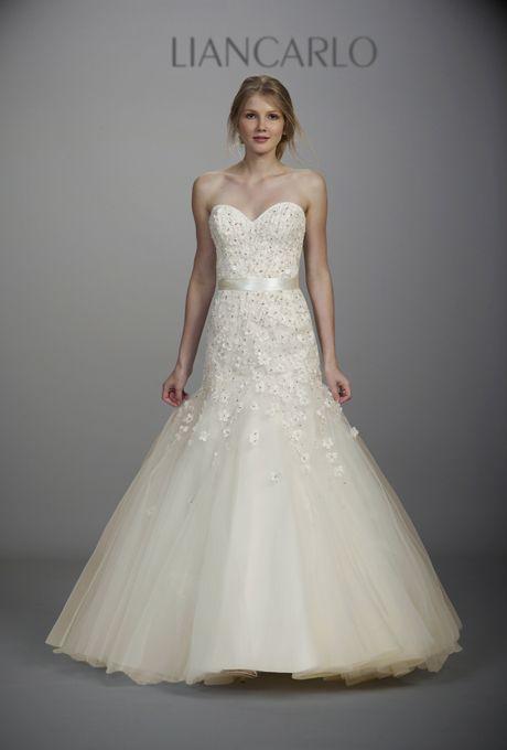 Liancarlo Fall 2012Wedding Dressses, Fashion Ideas, Flare Gowns, Style 5830, Dresses Ideas, Beads Petals, Liancarlo Spring, Spring 2013, Dresses Spring