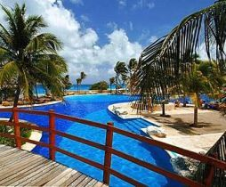 Grand Oasis Cancun All Inclusive Resort....walked this bridge several times! SO FUN!!
