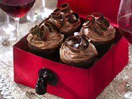 Yep Im making these today ,,, keeping the kid party real :)  Rosé Wine Cupcakes recipe from Betty Crocker