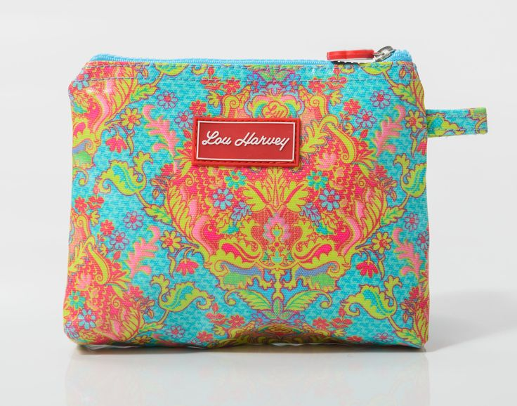 Great for lip balm, sudocream, jewellery. Just keep in your bag and your set.Small Cosmetic Bag - Indian Summer  $24.95 www.gumbootsandcurls.com.au