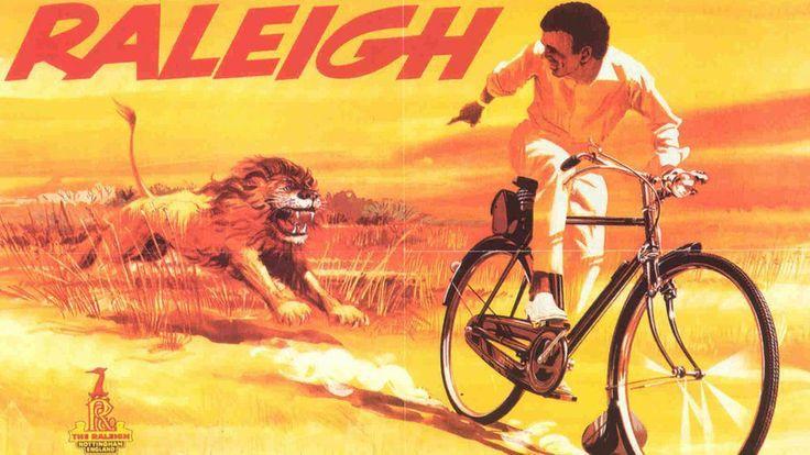 70s Raleigh cycle art