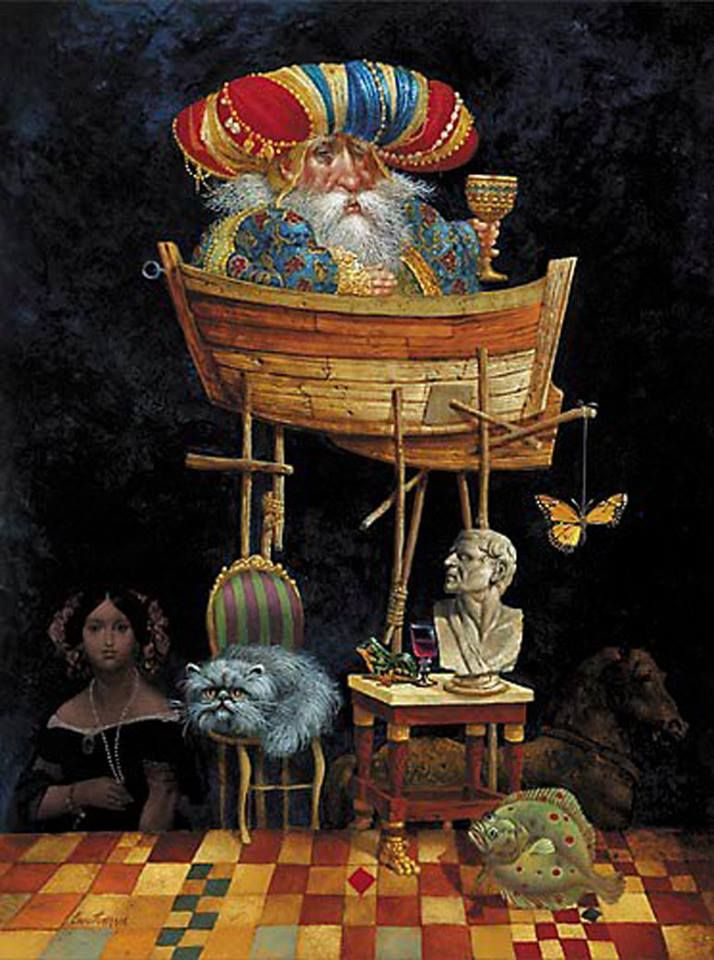 james christensen | Le illustrazioni di James C. Christensen