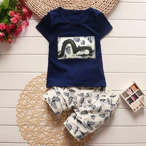 a85bbba13 BibiCola 2018 baby boys clothing sets summer toddle children cotton ...