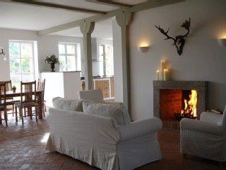 Offener Kamin Fireplaces Ferienhaus Brandenburg