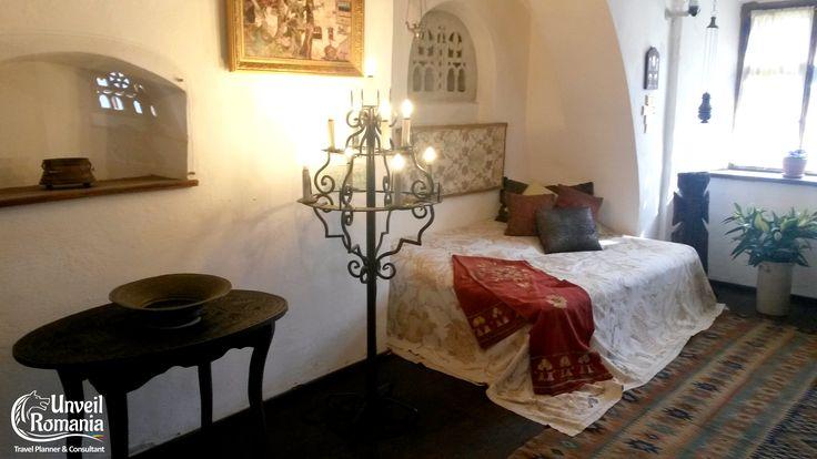 Bran Castle - Queen Mary's bedroom #Dracula #Bran #Transylvania #Castle #Romania