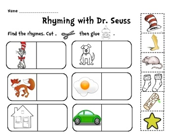 math worksheet : best 25 dr seuss rhymes ideas on pinterest  dr seuss printables  : Dr Seuss Kindergarten Worksheets
