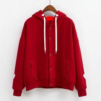 2017 harajuku sweatshirt women kawaii korean spring autumn soft sister cute heart-shaped embroidery love pink hoodies women