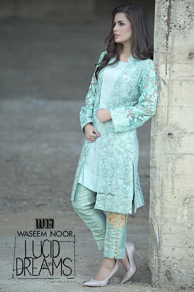 Waseem Noor Lucid Dream Spring Formal Dress Collection 2016