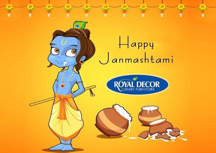 Wish you a very happy and joyous Janmashtami! Happy Janmashtami :)