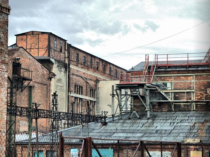 Old mine in Rybnik-Niewiadom, PL
