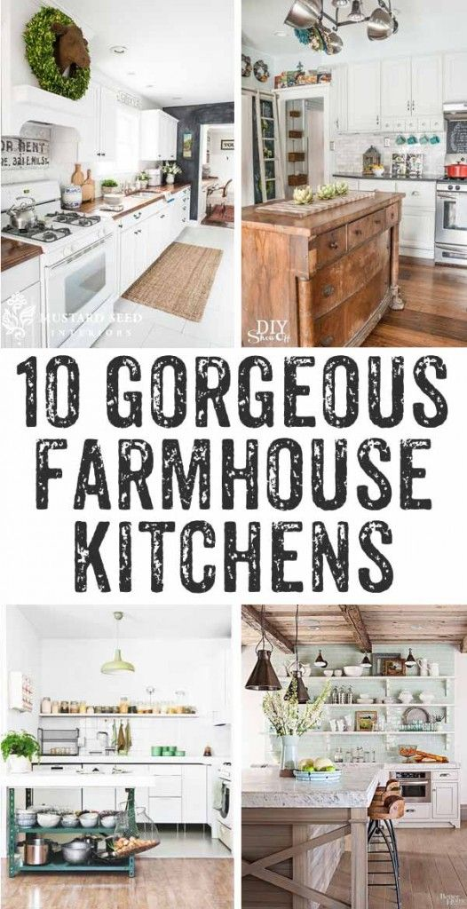 Farmhouse Kitchens With Fixer Upper Style Farmhouse