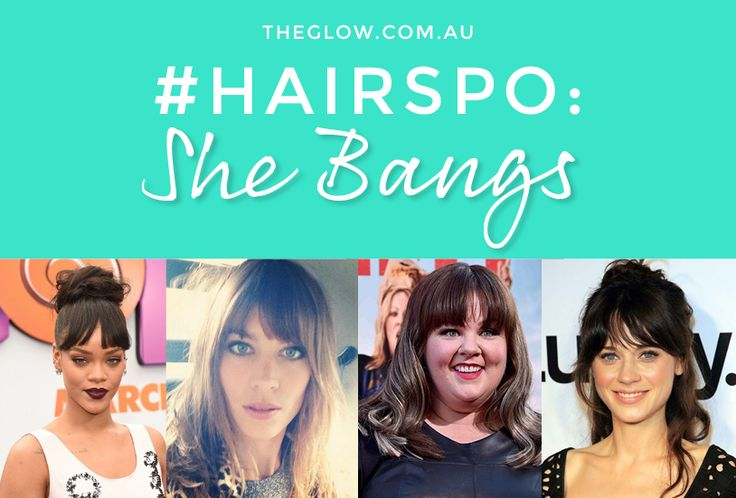 #Hairspo: How to look fabulous with a fringe.