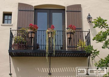 Decorative Designer Exterior Shutters : Architectual Shutt mediterranean windows and doors