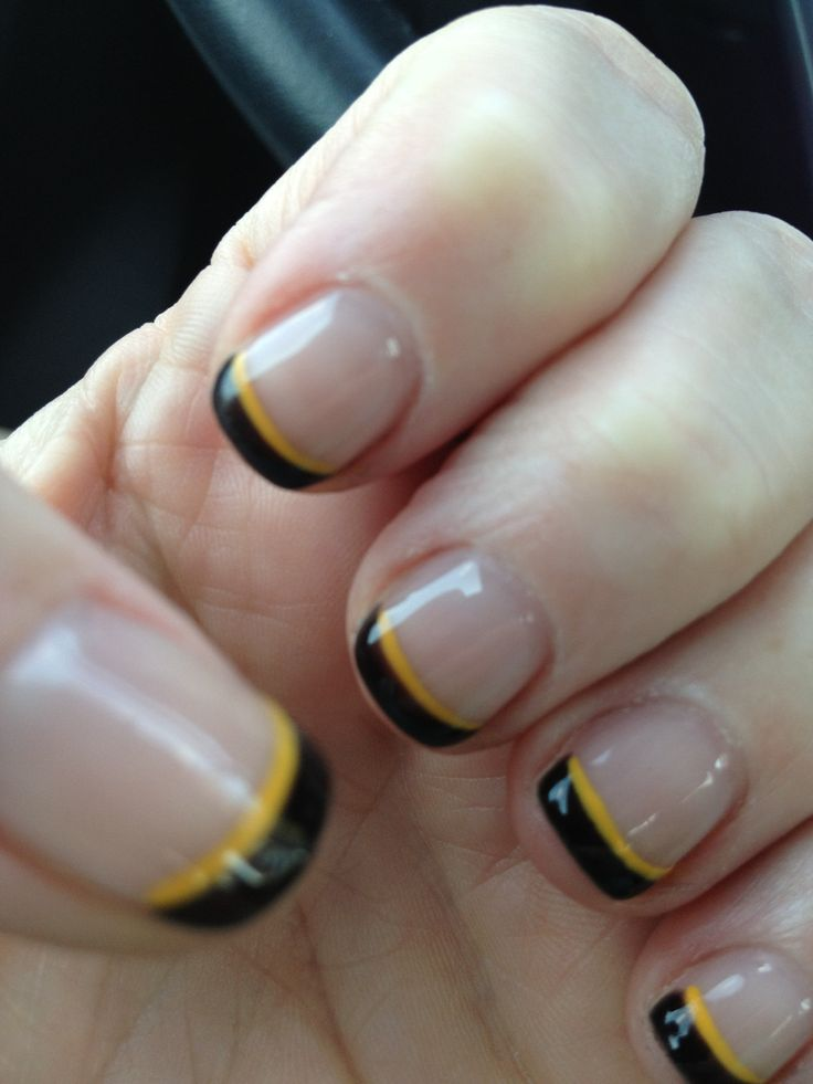 24 best Steelers Nail Designs images on Pinterest | Pittsburgh ...