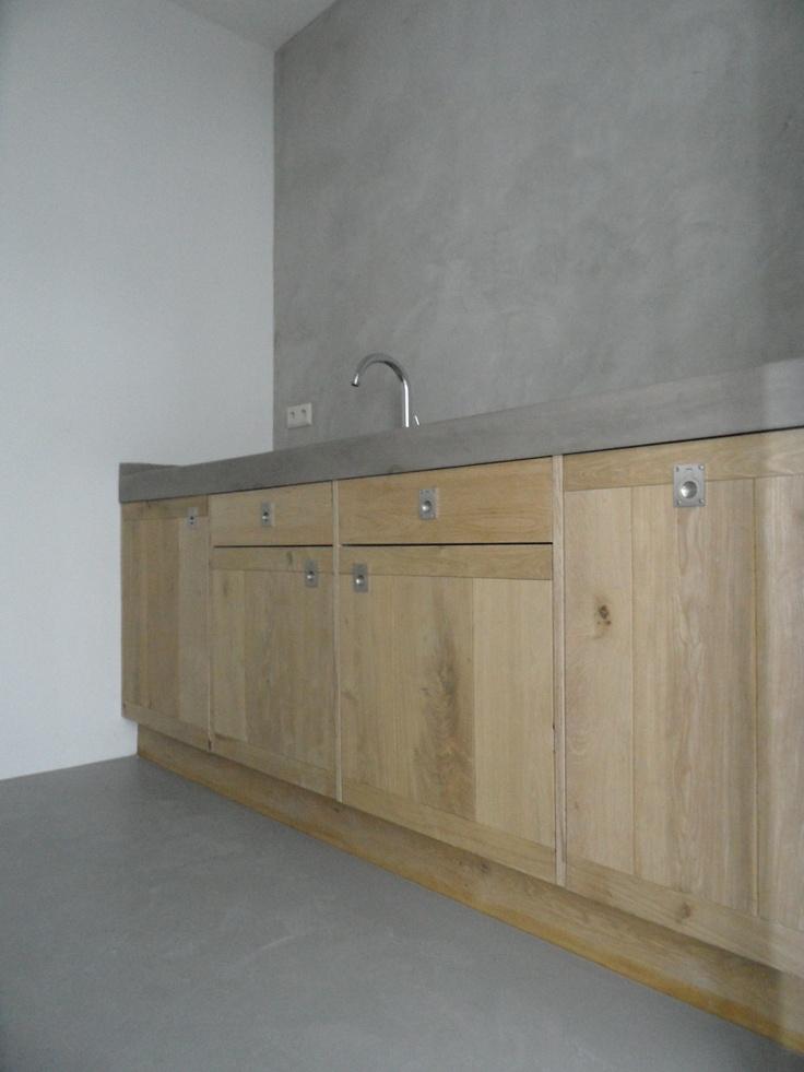 34 best keuken images on pinterest wall paint colors. Black Bedroom Furniture Sets. Home Design Ideas