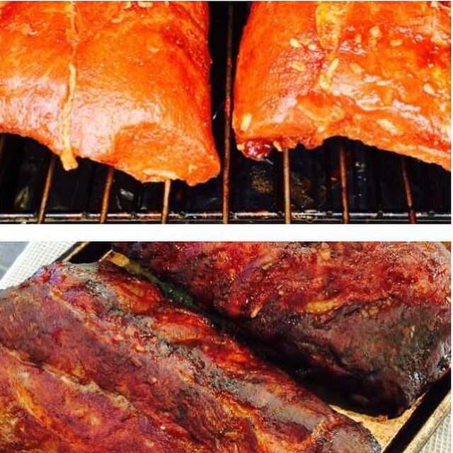 Smoked Pork Loin Back Ribs Recipe! http://smokintex.com/Recipes/Recipes_BackRibs.html #ribs #smokedbbq #electricsmokers #Texas #pork