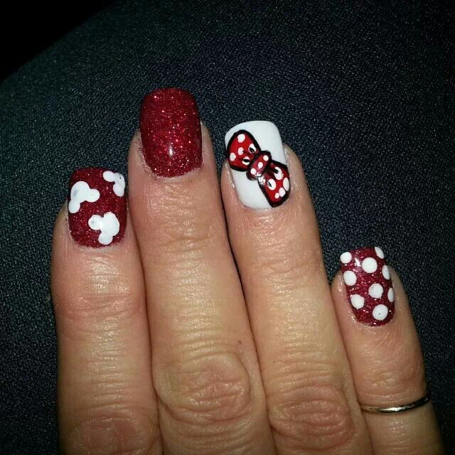 Moana Disney Nails Designs: 1000+ Images About Minnie & Mickey Mouse On Pinterest