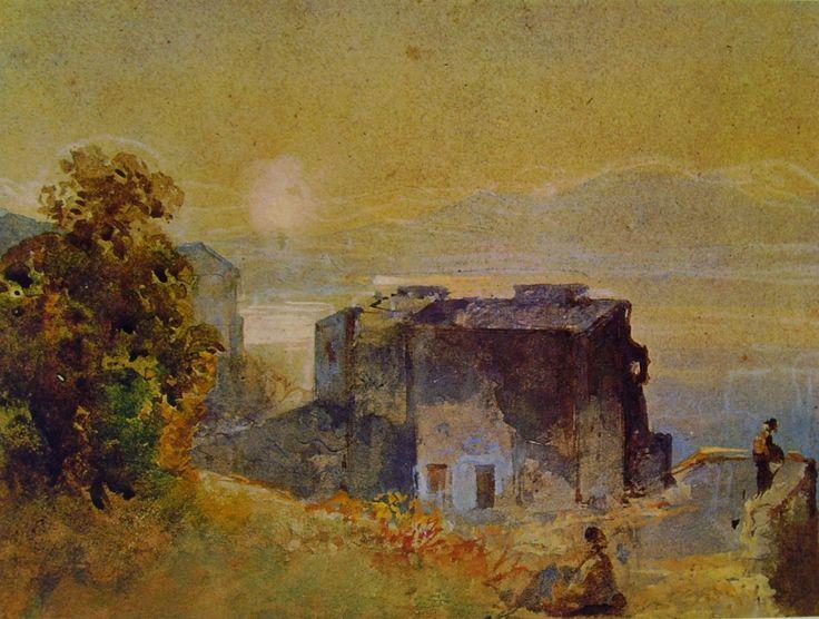 Giacinto Gigante - Tramonto a Capri