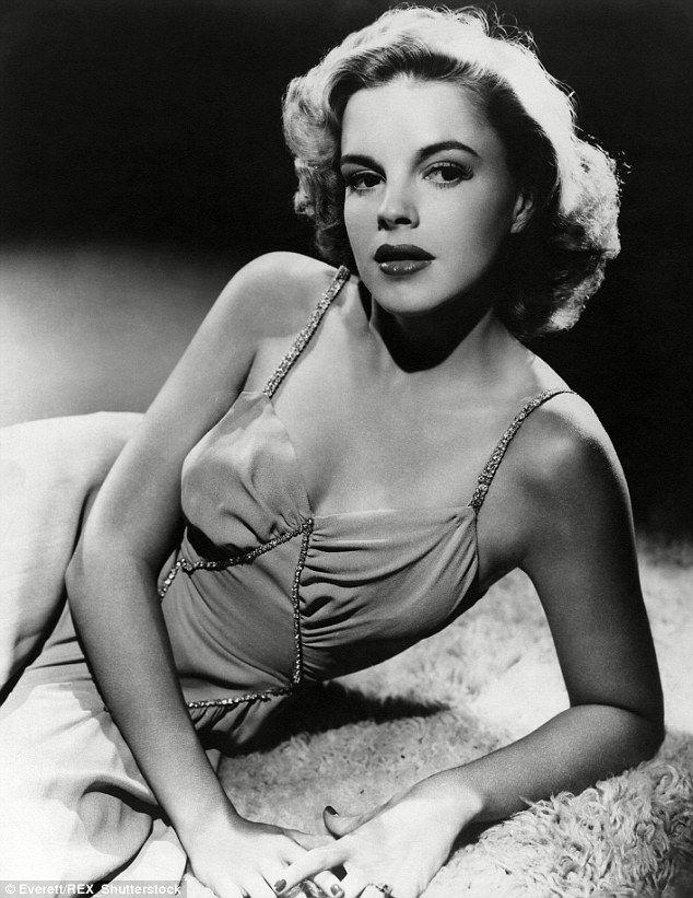 Judy Garland at the height of her career as an actress in the 1940s. She died aged just 47...