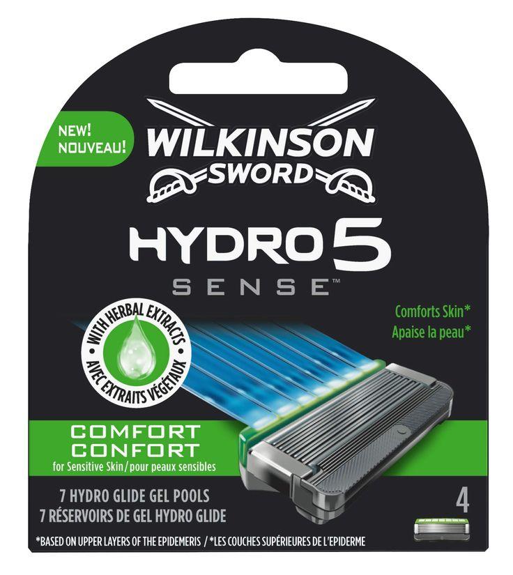Wilkinson Sword Hydro 5esense Comfort Lame 4epezzi In 2020 Wilkinson Sword Sword Senses